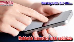 Selami Aykut muhtarlığı mobil uygulamaya taşıdı
