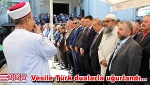 Yunus Türk'ün annesi Vesile Türk toprağa verildi
