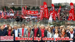 1 Mayıs İşçi Bayramı Bakırköy'de coşkuyla kutlandı
