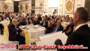 AK Parti Bahçelievler'den STK'lara teşekkür yemeği