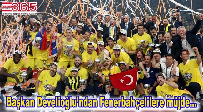 Avrupa Basketbol Şampiyonu Fenerbahçe'nin kupası Bahçelievler'de anıtlaşacak