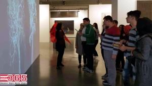 Bağcılarlı öğrenciler İstanbul Modern'i ziyaret etti