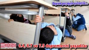 Bahçelievler'de öğrencilere deprem simülasyon TIR'ı ile afet eğitimi…