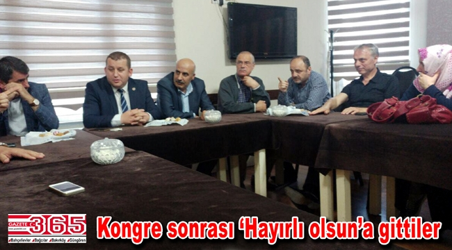 Bahçelievler Trabzonlular Derneği'nden MHP ve Saadet'e ziyaret...