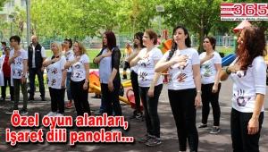 Bakırköy'de engelsiz park hizmete girdi