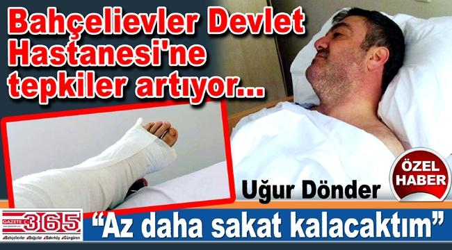 Doktorlara ve hastane yöneticilerine şikayetler yağıyor...