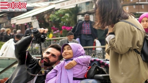 Engelli fotoğraf sanatçısı adayları tarihi mekanları görüntüledi