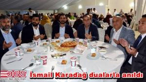 Eyüp Karadağ babası için mevlid okuttu, iftar verdi