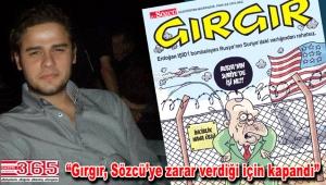 Kapanan Gırgır'ın yazarı Mehmet Ali Çatal kitap yazdı
