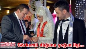 Selami Aykut 'un kardeşi Feridun Aykut evlendi
