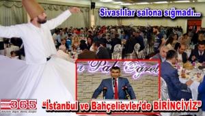 Sivaslılar BAHSİDER iftarında buluştu