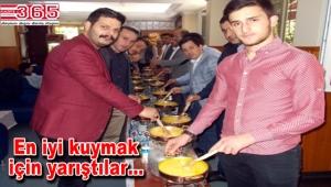 Trabzonlu gençler 'Kuymak Festivali'nde buluştu