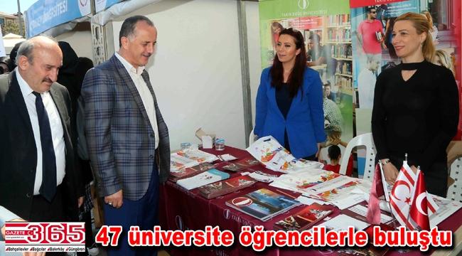 'Üniversitemi Seçiyorum Kampüs Bağcılar' fuarı açıldı