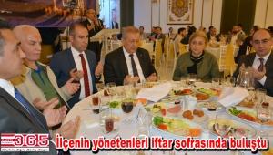 AK Parti Bahçelievler, ilçe protokolünü iftarda ağırladı