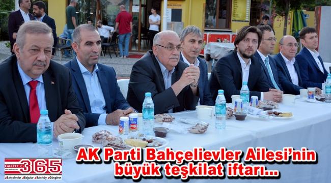 AK Parti Bahçelievler ilçe teşkilatı iftar sofrasında buluştu