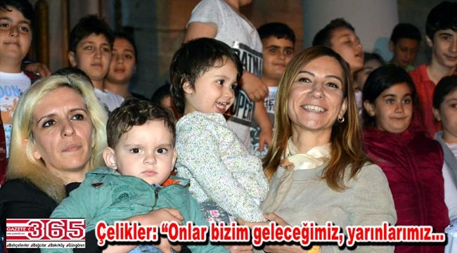 AK Parti Bakırköy Teşkilatı iftar sofrasında çocuklarla buluştu