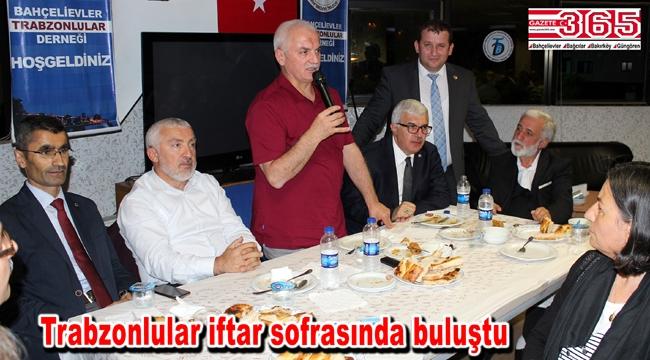 Bahçelievler Trabzonlular Derneği üyelerini iftarda ağırladı