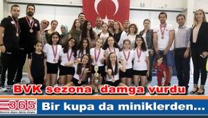 Bahçelievler Voleybol Kulübü miniklerde Türkiye 3'ncüsü oldu