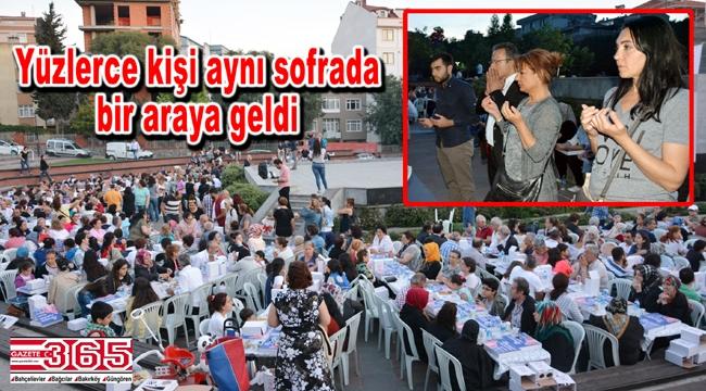 CHP Bahçelievler İlçe Örgütü iftar sofrasında buluştu