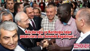 CHP lideri Kemal Kılıçdaroğlu Bakırköy'de pazarcılarla iftar açtı
