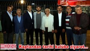 Galatasaraylı Selçuk İnan Osmaniye İstiklalspor'u ziyaret etti