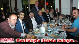 Ali Bekgöz'ün geleneksel iftarına ilgi büyüktü