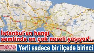 İstanbul'un hangi semtinde en çok nereli yaşıyor?..
