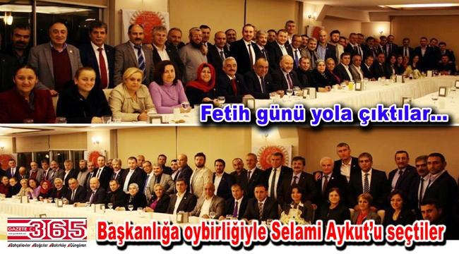 Tüm İstanbul Muhtarları Federasyonu kuruldu