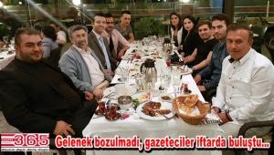 Zekeriya Yıldız gazetecileri iftar sofrasında ağırladı