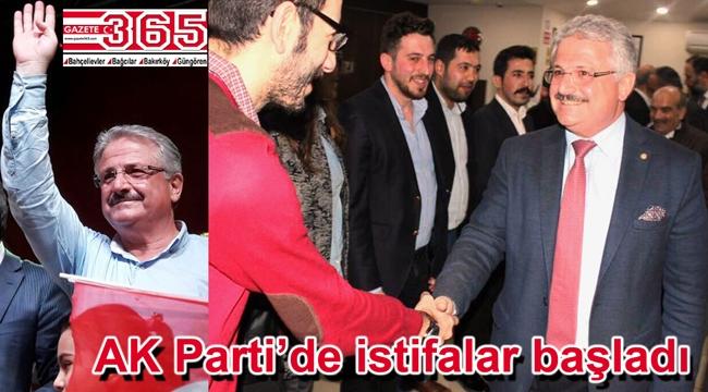 AK Parti'de 16 ilçe başkanı istifa edecek…