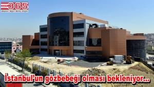 Bahçelievler'deki dev kongre merkezi inşaatında sona yaklaşıldı
