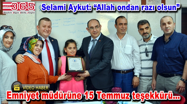 Bahçelievler Trabzonlular Derneği 15 Temmuz'u unutmadı...