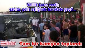 Bakırköy'de piknikçilere zabıta operasyonu…