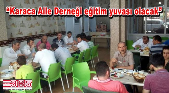 Başkan Ali Karaca medya mensuplarıyla kahvaltıda buluştu