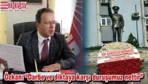 CHP Bahçelievler 15 Temmuz şehitlerini andı