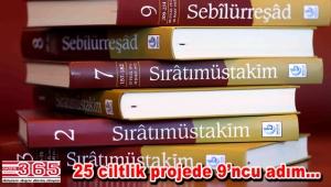 """""""Sebilürreşad'ın 9. cildi çıktı"""""""