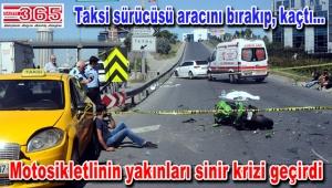 Bağcılar'da motosiklet kazası: 1 ölü, 1 yaralı…