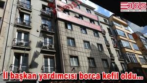 CHP İstanbul İl Başkanlığı'na haciz şoku