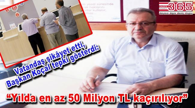 Genel Başkan Koçal'dan fatura ödeme merkezi tepkisi…