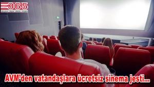 Güngören'deki o AVM müşterilerine ücretsiz sinema keyfi sunuyor