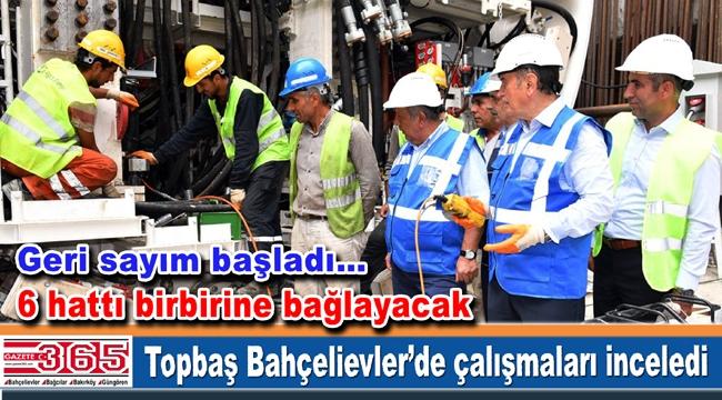 Kadir Topbaş, Ataköy-Basın Ekspres - İkitelli Metro Hattı için tarih verdi