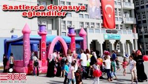 Bağcılar'da mini mini birler için oyun parkları kuruldu
