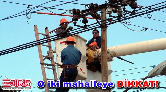 Bakırköy'de 3 gün elektrik kesintileri yaşanacak