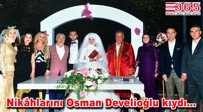 BKDD Başkanı Selma Işkın oğlunu evlendirdi