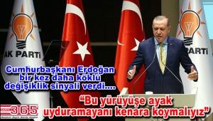 Cumhurbaşkanı Erdoğan nasıl bir teşkilat istediğini anlattı