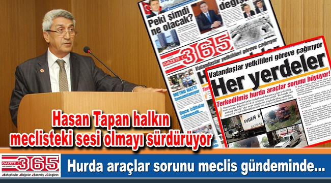 Hasan Tapan Gazete 365'in