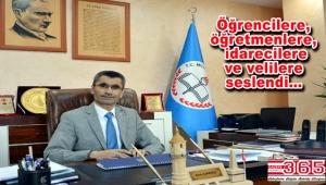 İlçe Milli Eğitim Müdürü Çıkrıkçı, yeni eğitim dönemi için mesaj yayınladı