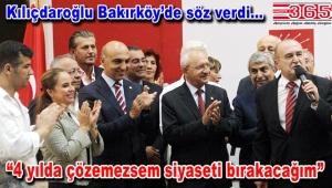 Kılıçdaroğlu Bakırköy'de yeni üyelere rozet taktı