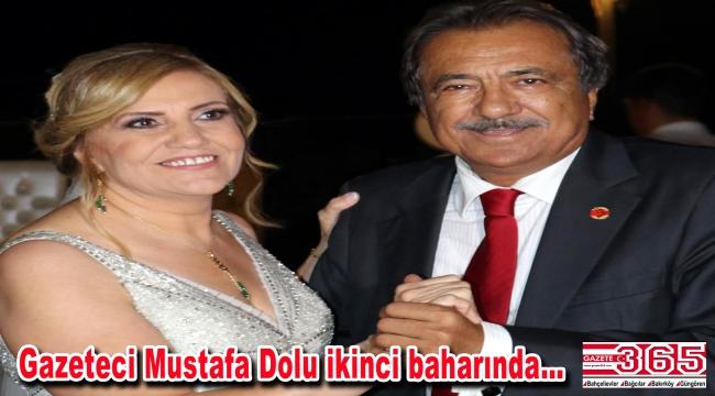 Gazeteci Mustafa Dolu ve Bahriye Özkurt dünyaevine girdi