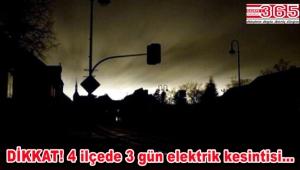 Bahçelievler, Bağcılar, Bakırköy ve Güngören'de elektrik kesintileri olacak
